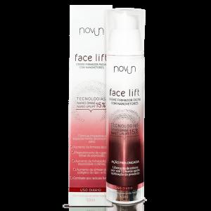 Novun Face Lift – Creme Firmador Facial Com Nanovetores